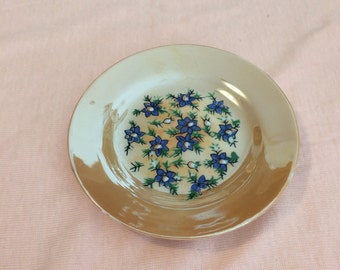 Vintage Japanese Child's Tea Set Plate