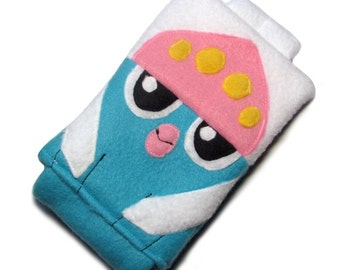 JULY PREORDER 3ds XL Case / Custom Size Pokemon Inkay pouch carrying case new 3ds / 3ds xl / nintendo switch / psp vita holder cozy