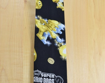 Super Mario 2 Regular Neck Tie