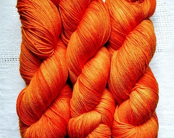 Tiger Lilly   Hand Dyed Yarn