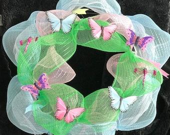 It's Finally Spring! Butterfly Wreath