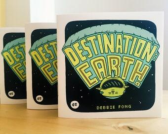 DESTINATION: EARTH! - A Minicomic