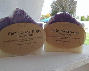 Lavender Essentail Oil Handmade Soap/ Artisan Soap/ Handcrafted