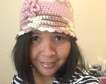 Crocheted Winter Beanie