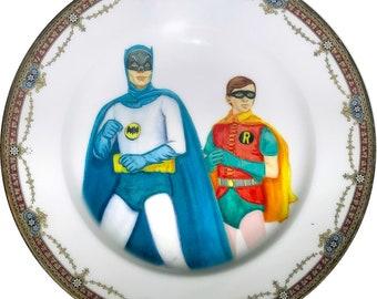 Vintage Heroes - Vintage Porcelain Plate - #0536