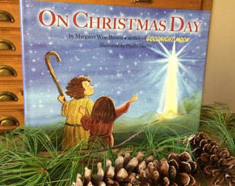 Christmas Picture Book- signed by the illustrator - Margaret Wise Brown