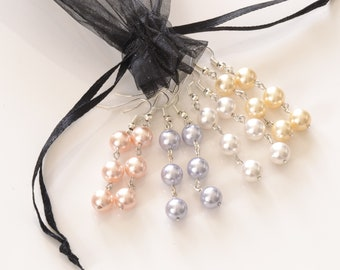 Swarovski Crystal Drop Earrings by Rika Unica Jewelery Classy Girl Collection
