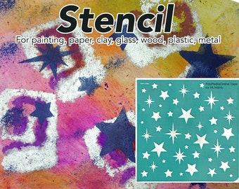 Stencil, Painting Stencil, Wall Stencil, DIY Stencil, Craft stencil, Reusable, Scrapbooking, Adhesive, Decor Stencil, Dots, Pattern,Template