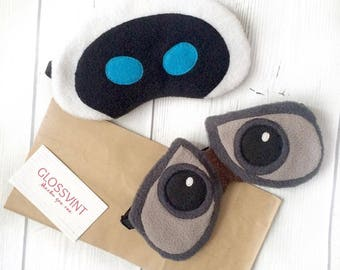 Couple Sleep masks Robots His and Hers Eye Mask Sleeping mask