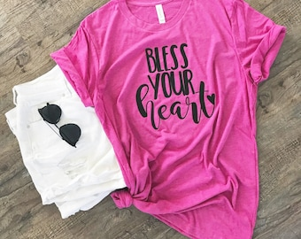 Bless Your Heart Shirt - Southern Girl Tee - Funny T-Shirt