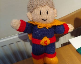 Handmade Knitted Super Boy