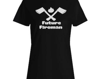 Future Fireman Ladies T-shirt s888f