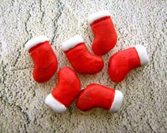 20 Tiny Stocking Beads