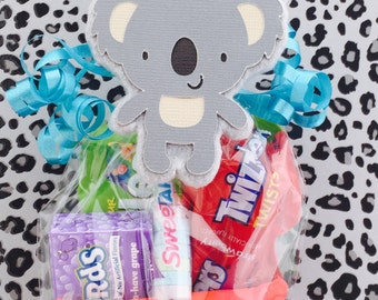 Safari Birthday - Koala Baby Shower - Koala Bear Baby Shower - Koala Birthday - Koala Party Supplies - Koala Wedding - Zoo Party Favor Bags