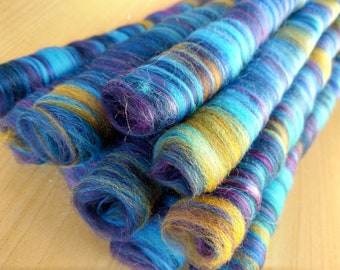 Rolags - Punis - Fiber For Handspinning - Ready To Ship