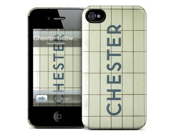 Toronto iPhone Case - Chester Subway Station - Available for iPhone X, iPhone 8, iPhone 7, iPhone 6 Plus, iPhone 6, iPhone 5S/5, iPhone 5C