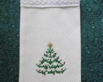 Gift or Sachet Bag  Christmas Tree