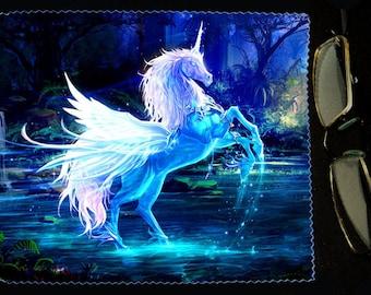 Cloth wipes model Unicorn 2 glasses