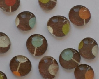 Connect the Dots - Set of 9 glass magnets