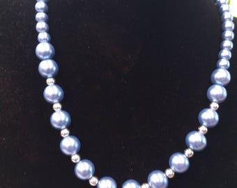 Handmade Rockabilly nautical themed necklace