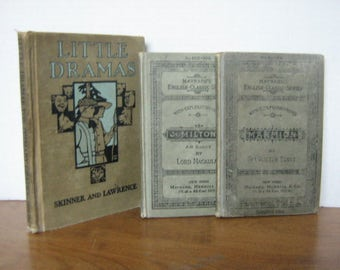 Old School Readers-3- @1900
