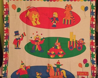 FUN Circus Curtain/Hanging Artwork