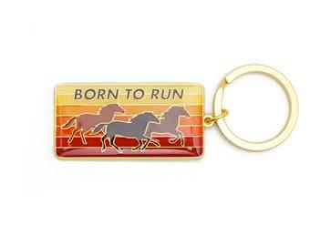 Born To Run Keychain