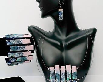 Ensemble de Boho bijoux bijoux ensemble bijou Bohème Bijoux Pendentif Collier Collier Collier Unique cadeau pour son cadeau pour les femmes Boho