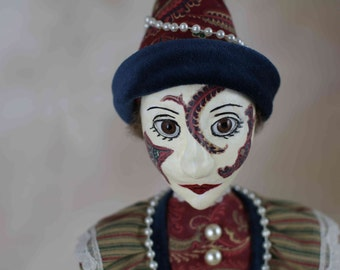 Harlequin Doll