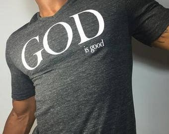 God is Good Gray T-shirt