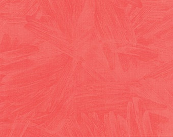 Tucker Prairie Brush Strokes in Coral Bells, One Canoe Two, Moda Fabrics, 100% Cotton Fabric, 36008 15