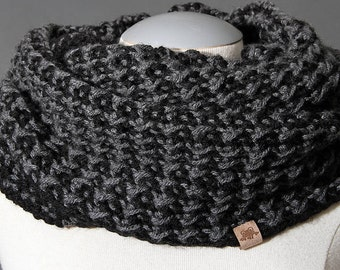 BROOKSIDE COWL - Mens Crochet Cowl Pattern Easy Crochet Cowl Pattern Boys Crochet Cowl Pattern Ladies Crochet Cowl Pattern Crochet Cowl
