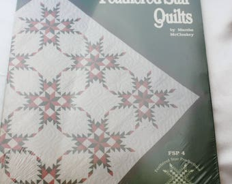 Feathered Star Quilts Book by Marsha McCloskey, Quilting, Sewing