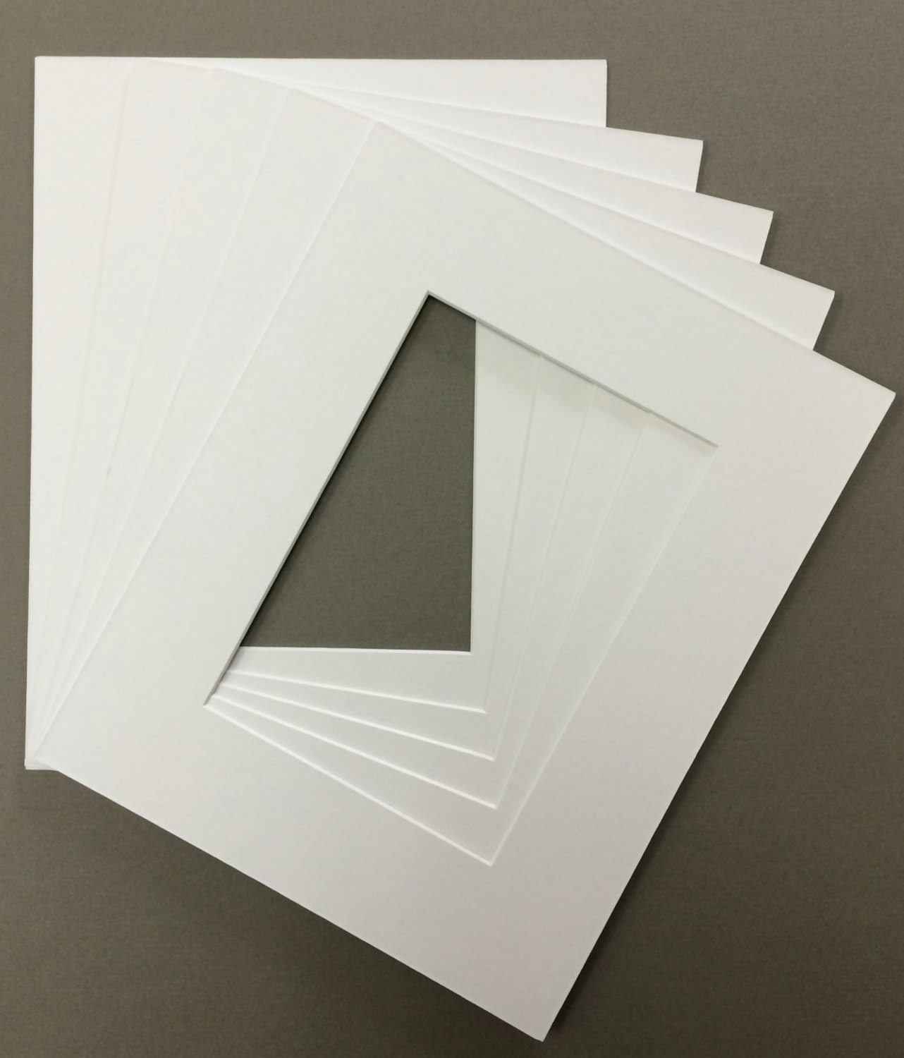 Pack Of 5 11x14 Picture Mats For 8x12 Pictures Over 30