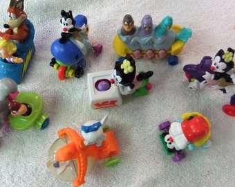 Vintage McDonald's Toys / Cake Toppers Animaniacs Happy Meal Toys / Cake Toppers