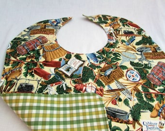 Special Needs Reversible Bib for Older Child or Adult