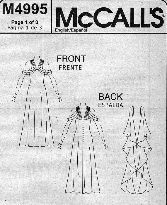 McCall\'s M4995 Costumes Sewing Pattern for Star Wars Misses\' Queen ...