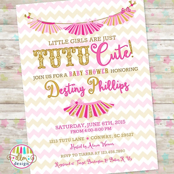 Tutu cute invite pink and gold baby girl shower little tutu cute invite pink and gold baby girl shower little girls are tutu cute printable invitation tutu cute baby shower twins invite filmwisefo Choice Image