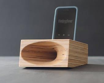 Timbrefone™ Origin - Phone Amplifier // Acoustic Wood Speaker // iPhone amp // Passive Speaker
