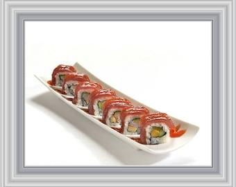 Sushi Print, Sushi Art, Food Prints, Kitchen Wall Art, Kitchen Print, Kitchen Art Print, Instant Download Printable Art, Food Art, Sushi