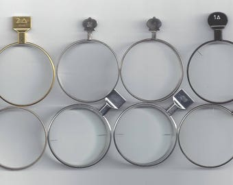 8  PRISM Trial/ Optical Lenses.. crafts.. steampunk.. make your own jewelry