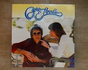 SEALed...CAPTAIN AND TENNILLE - Song of Joy - 1976 Vintage Vinyl Record Album