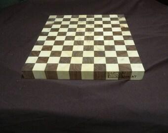 End grain mixed hardwood cutting boards