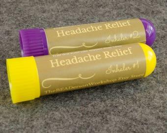Headache Essential Oil Inhaler Set
