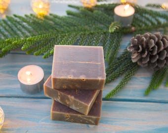 Unique Frankincense soap, natural and handmade Christmas biblical gift