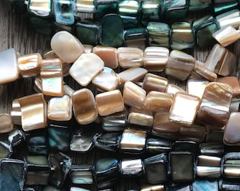 SHELL bead strands, shell beads, shells, shell, Choose color, bead strands, beach themed beads