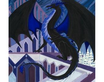Black Ice Dragon