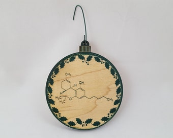 THC Molecule | Hanging Ornament