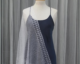 Bridal VEIL: The 12th of Never. PDF knit pattern Small and Large