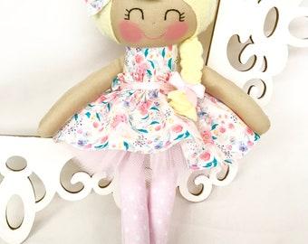 Fabric Dolls- Cloth baby doll, Handmade Dolls, Soft Doll